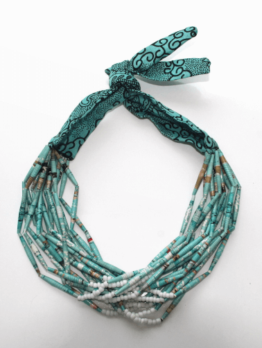 Collier African Queen Turquoise