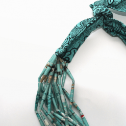 african queen turquoise detail
