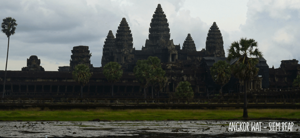 temple d'angkor wat au cambodge