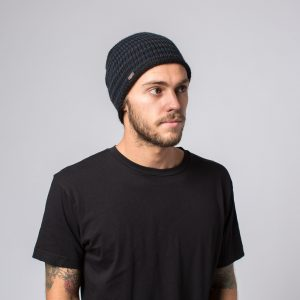 bonnet Krochet Kids Riley noir