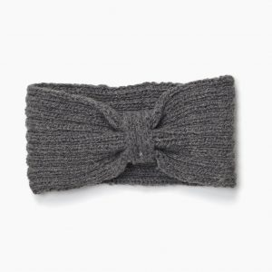 Headband en laine Stevie gris