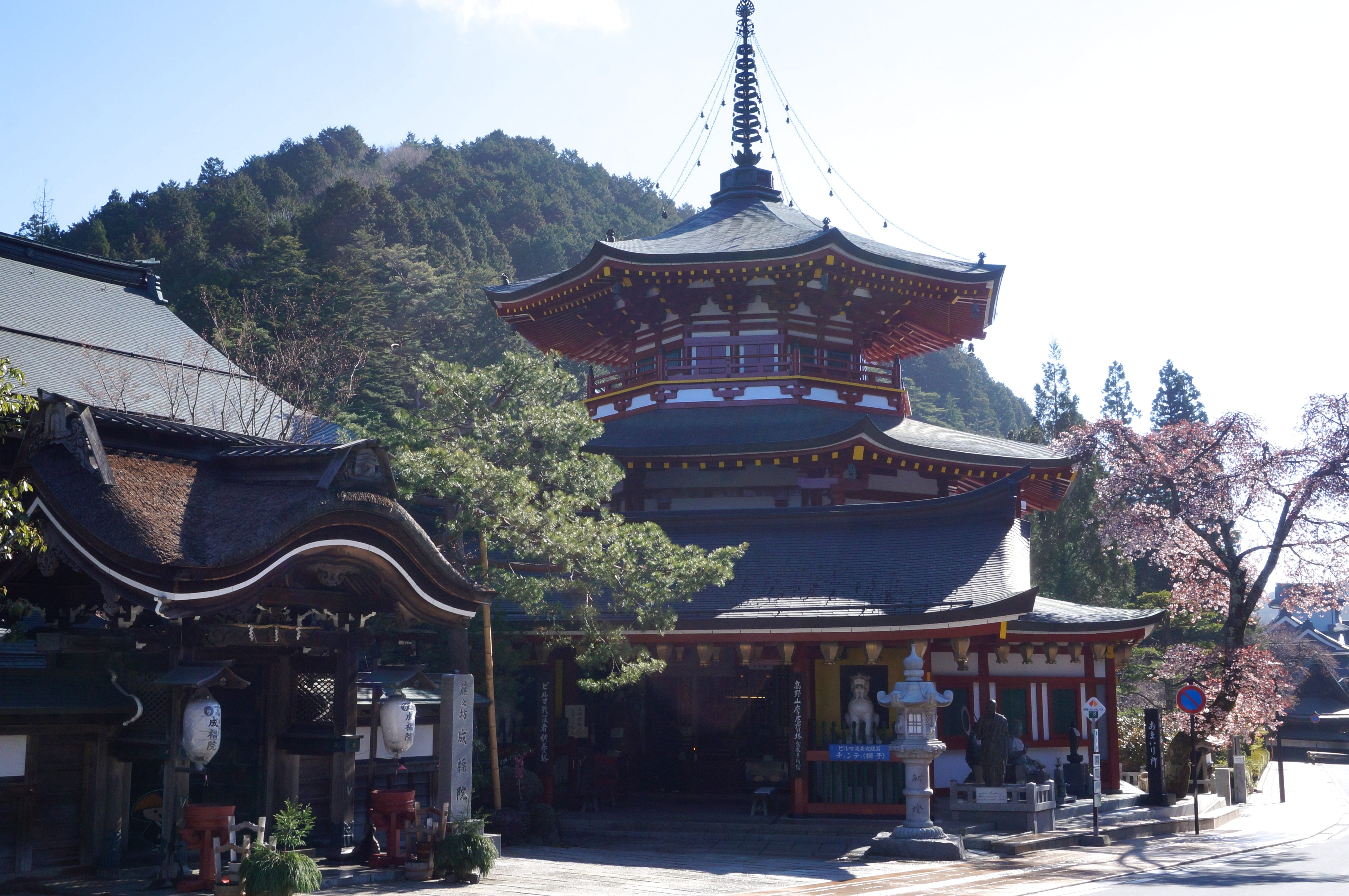 temple bouddhiste koyasan au japon