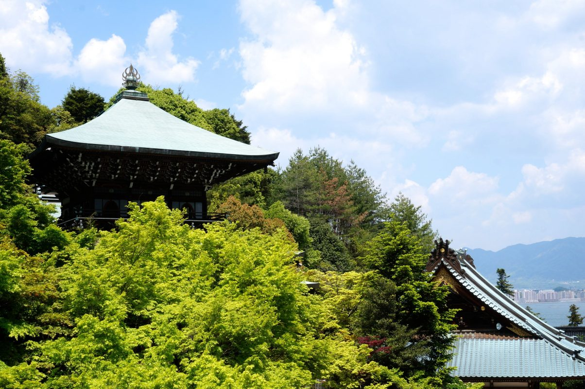 miyajima foret et temples