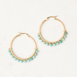 Boucles d'oreille turquoises Starfish Project