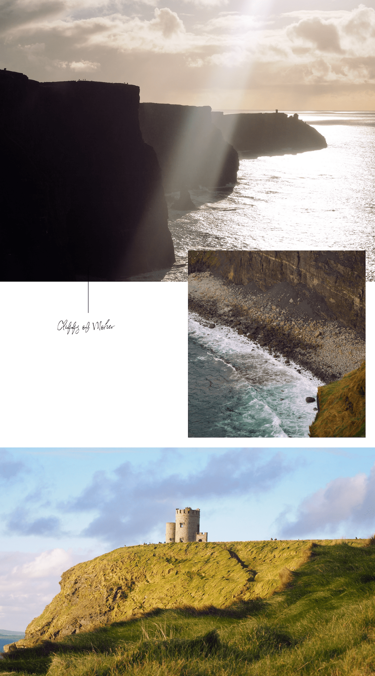 Irlande: cliffs of moher