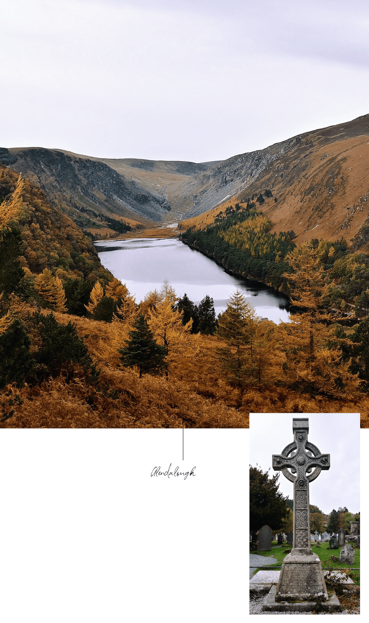 glendalough et upper lake