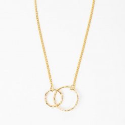Collier infini or